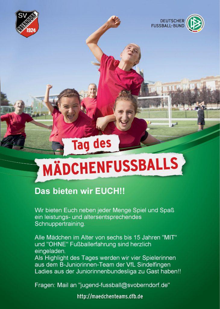Tag des Mädchenfußballs im Bezirk Alb