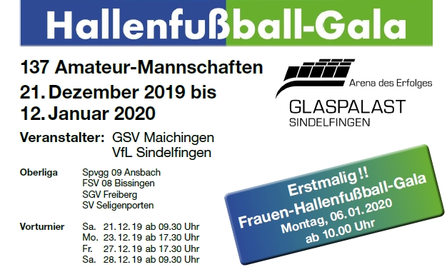 Save the Date: Hallenfussball-Gala